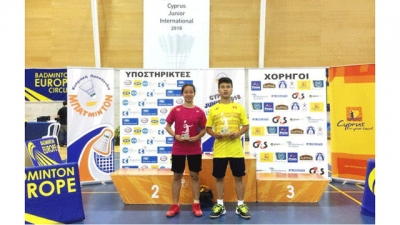 Nguyên Hai Dang remporte le tournoi international de badminton junior à Chypre